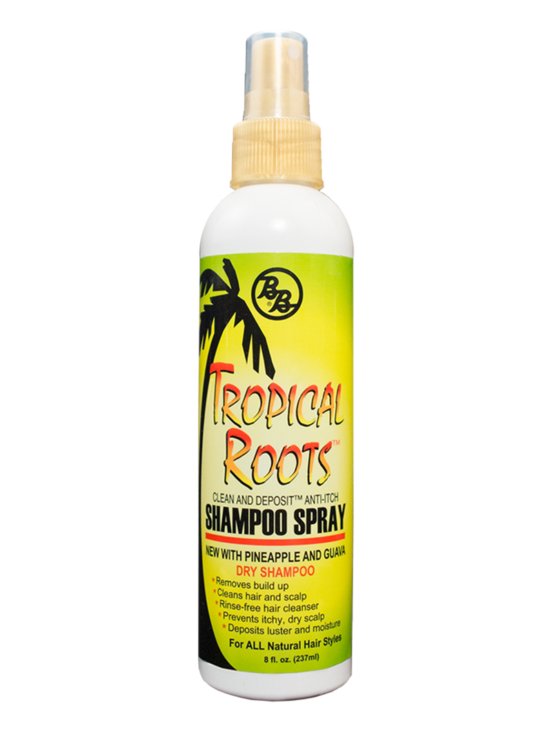Bronner Brothers Tropical Roots Anti-Itch Shampoo Spray 8oz
