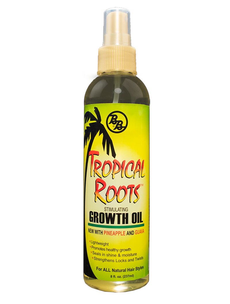 Bronner Brothers Tropical Roots Stimulating Growth Oil 8oz
