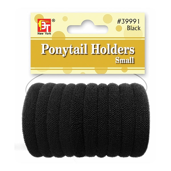 Beauty Town Ponytail Holders Small Black #39991