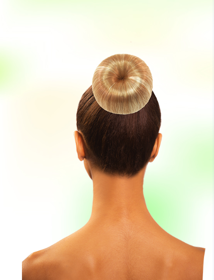 Biba EZ-Up Synthetic Hair Apple Bun
