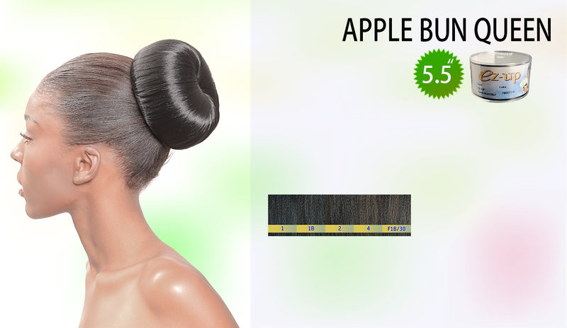 Biba EZ-Up Synthetic Hair Apple Bun Queen