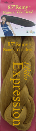 "Biba Expression 85"" Remy Natural Yaki Braid"