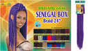 Biba Expression Synthetic Hair Crochet Senegal Box Braid 24""