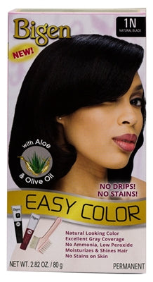 Bigen Easy Color Permanent Hair Color 1N Natural Black