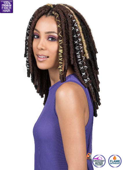 Bobbi Boss Bae Locs Gold 12""