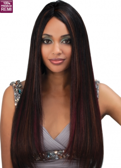 Bobbi Boss INDIREMI Premium Virgin Remy Human Hair Weave Natural Yaky
