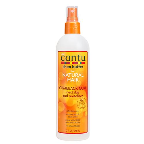 Cantu Shea Butter For Natural Hair Comeback Curl Next Day Curl Revitalizer 12oz