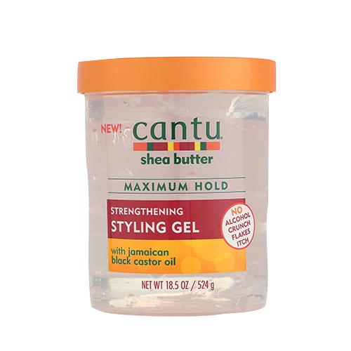 Cantu Shea Butter Maximum Hold Strengthening Styling Gel 18.5.oz