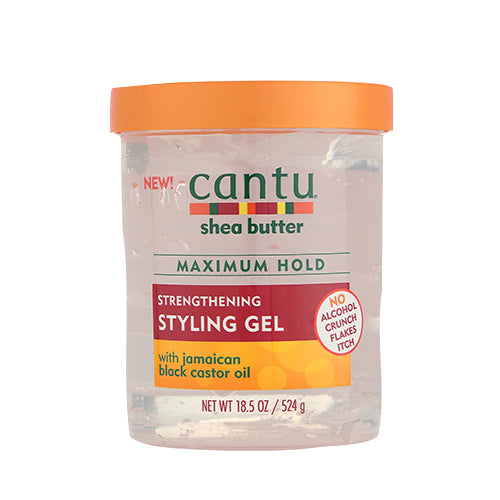 Cantu Shea Butter Maximum Hold Strengthening Styling Gel 18.5oz