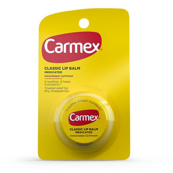 Carmex Classic Lip Balm Medicated Original Jar 0.35oz