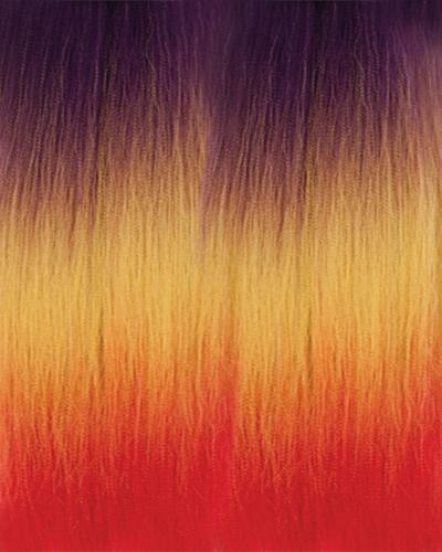 Chade Amour 2X EZ X Rainbow Pre-Stretched Synthetic Hair Braid 54""