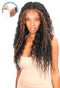 Chade Magic Lace Fake Scalp Synthetic Hair 13X4 Lace Wig Bohemian Wave