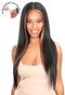 Chade Magic Lace Fake Scalp Synthetic Hair 13X4 Lace Wig Straight