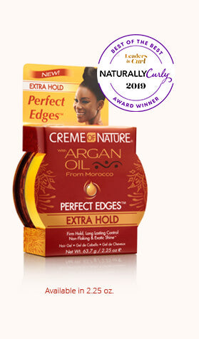 Creme Of Nature Argan Oil Perfect Edges Extra Hold 2.25oz