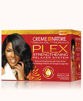 Creme Of Nature Argan Oil Plex Strengthening Relaxer System Regular
