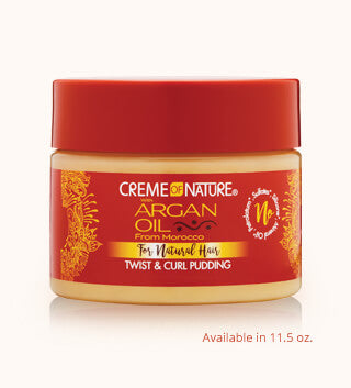 Creme Of Nature Argan Oil Twist & Curl Pudding 11.5oz