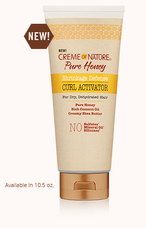 Creme of Nature Pure Honey Shrinkage Defense Curl Activator 10.5oz