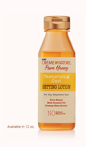 Creme Of Nature Pure Honey Texturizing Curl Setting Lotion 12oz