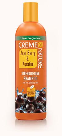 Creme Of Nature Acai Berry & Keratin Strengthening Shampoo 12oz