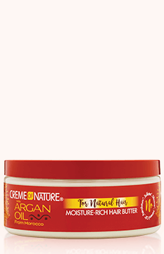 Creme Of Nature Argan Oil For Natural Hair Moisture-Rich Hair Butter 7.5oz