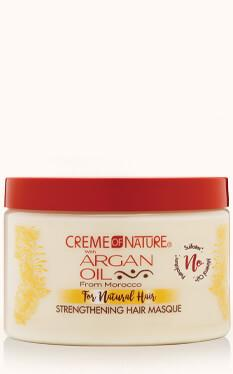 Creme Of Nature Argan Oil For Natural Hair Strengthening Hair Masque 11.5oz