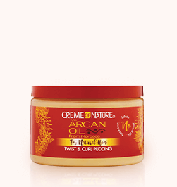 Creme Of Nature Argan Oil For Natural Hair Twist & Curl Pudding 11.5oz