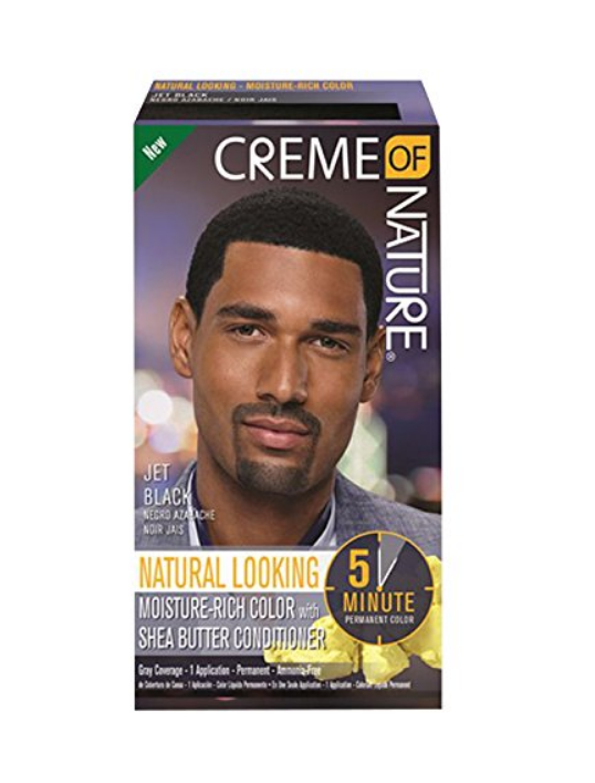 Creme Of Nature Moisture-Rich Hair Color With Shea Conditioner For Men
