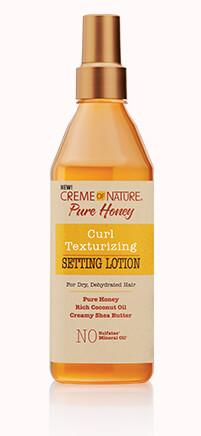 Creme Of Nature Pure Honey Curl Texturizing Setting Lotion 12oz