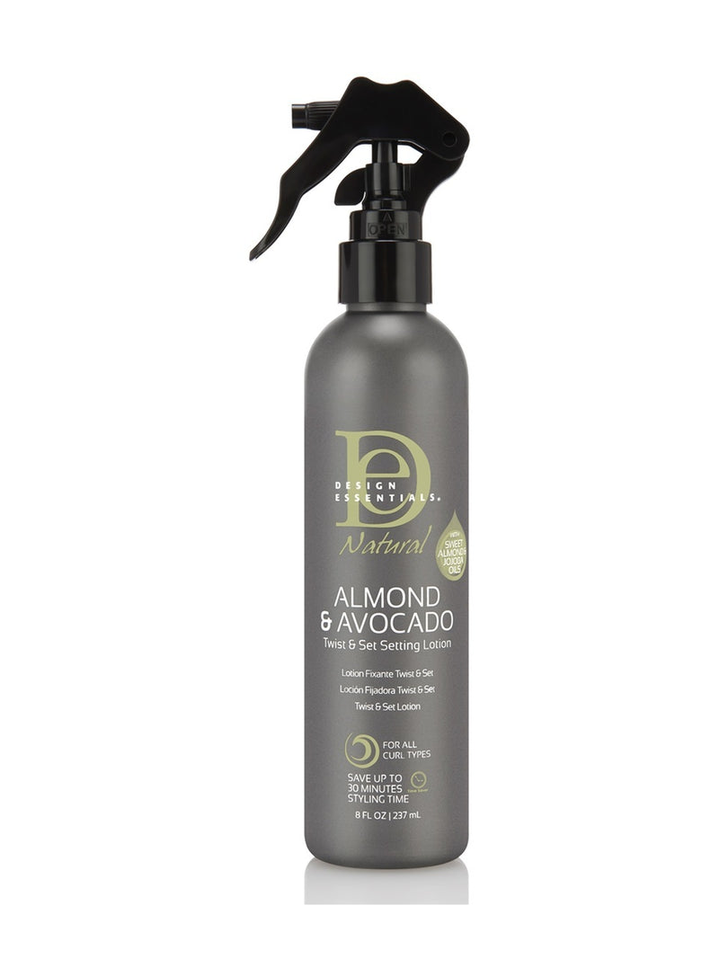Design Essentials Almond & Avocado Twist and Set Setting Lotion
