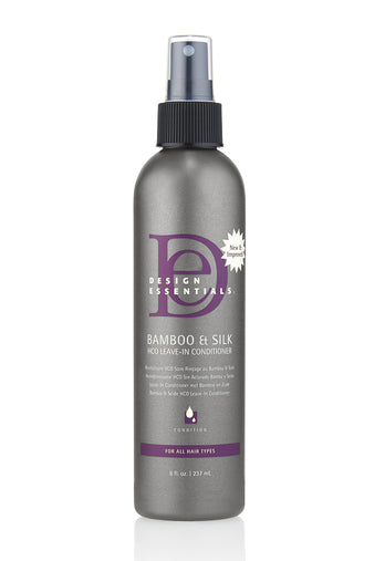 Design Essentials Bamboo & Silk HCO Leave-In Conditioner 8oz