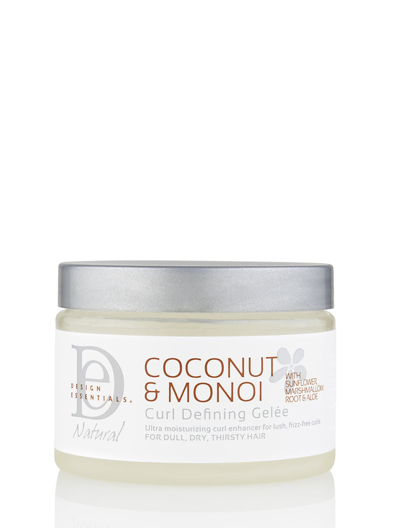 Design Essentials Coconut & Monoi Curl Defining Gelée 12oz