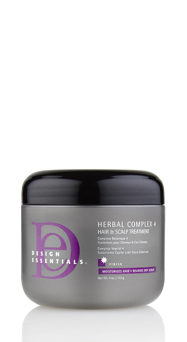 Design Essentials Herbal Complex 4 Hair & Scalp Treatment 4oz