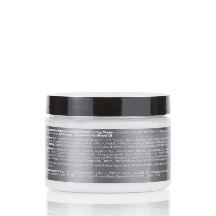 Design Essentials Natural Almond & Avocado Curling Creme 12oz