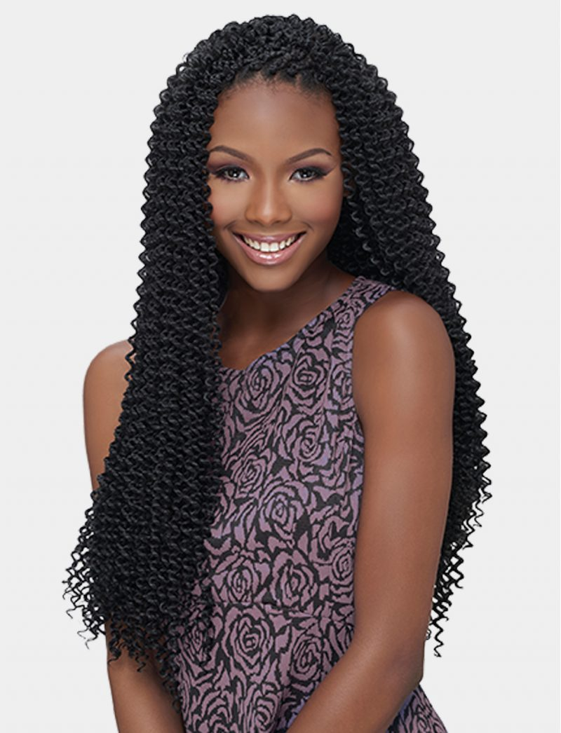 Harlem 125 Kima Braid Synthetic Hair Crochet Bohemian Curl 20""