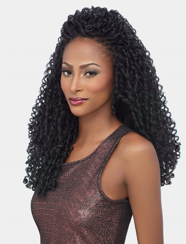Harlem 125 Kima Braid Synthetic Hair Crochet Soft Dreadlock 14""