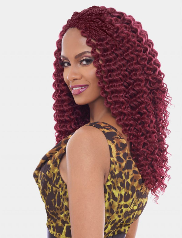 Harlem 125 Kima Braid Synthetic Hair Crochet Brazilian Twist 14""