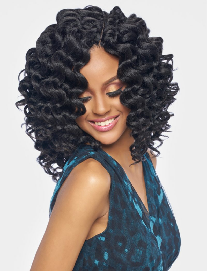 Harlem 125 Kima Braid Synthetic Hair Crochet Wind Wave 8 S K Beauty
