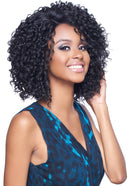 Harlem 125 Kima Lace Wig Deep Part Synthetic Hair Lace Wig KLW05 Brazilian Twist Short