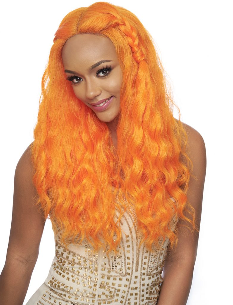 Harlem 125 Swiss Lace Wig Multi Deep Part Synthetic Hair Wig LSD31