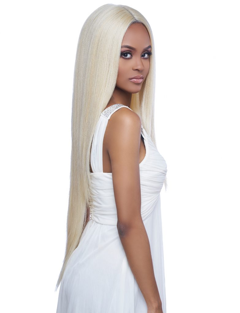 Harlem 125 Swiss Lace Wig Synthetic Hair Deep Part Wig LSD60