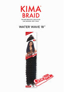 Harlem 125 Kima Braid Synthetic Hair Crochet Water Wave 18″