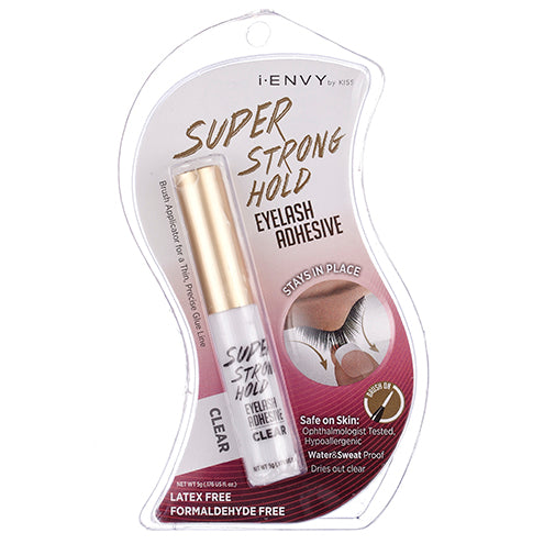 I Envy By Kiss Super Strong Hold Eyelash Adhesive Clear