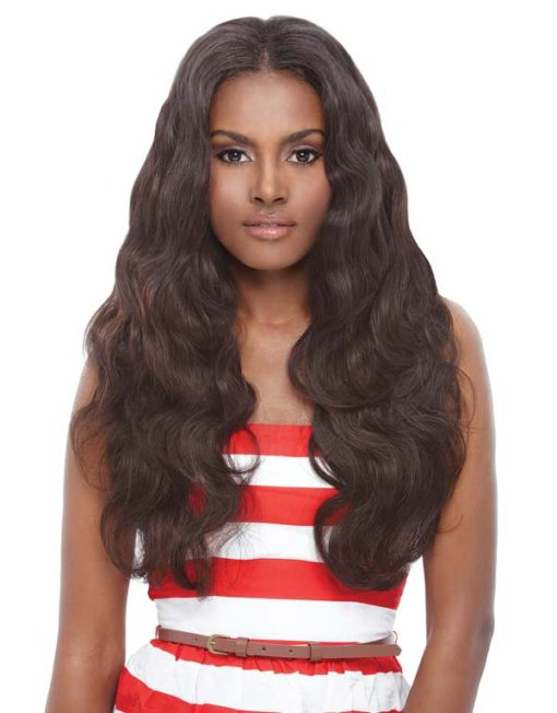 Janet Collection Brazilian Bundle Hair Bombshell 100% Natural Remy Human Hair Natural Body Wave 6Pcs