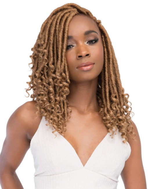 Janet Collection Nala Tress Synthetic Hair Crochet Ghana Faux Locs 12""