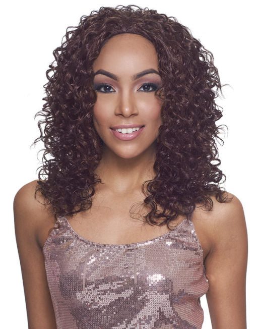 Janet Collection New Easy Quick Synthetic Half Wig Kenneth