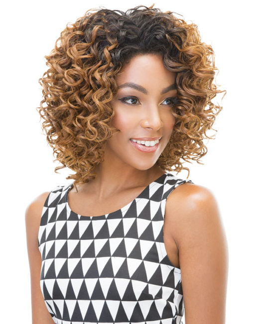 Janet Collection New Easy Quick Synthetic Half Wig Nicole