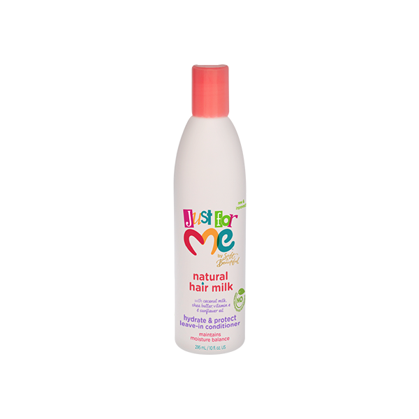 Just For Me Natural Hair Milk Hydrate & Protect Leave-In Conditioner 10oz