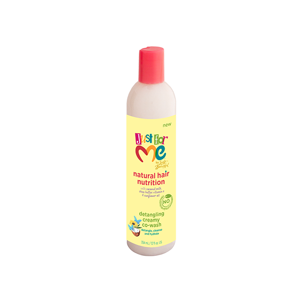 Just For Me Natural Hair Nutrition Detangling Creamy Co-Wash 12oz