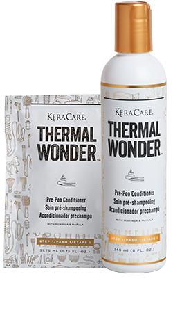 KeraCare Thermal Wonder Pre-Poo Conditioner 8oz
