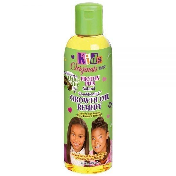 Kids Originals By Africa's Best Protein Plus Natural Conditioning Growth Oil Remedy 8oz